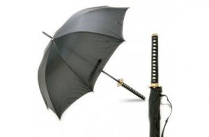 Paraguas Samurai