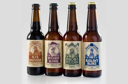 Colección de Cervezas Discwolrd Ales