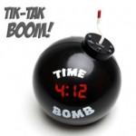 Despertador Bomba, el más explosivo