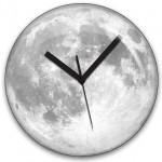 Reloj Luna fluorescente