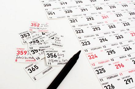 Calendario Carpe Diem 2013