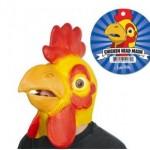 Máscara cabeza de pollo