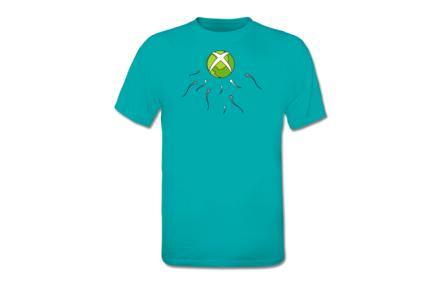 Camiseta Xbox Sperm
