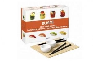 40 recetas de sushi con utensilios