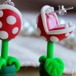 Pendientes Planta carnívora de Súper Mario
