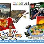 Sorteos de regalos en febrero con el #FrikiDeLaSemana de Zacatrus!