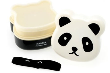 Bento con forma de panda