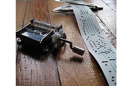 Caja de música mecánica