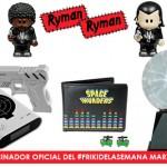 Más sorteos de regalos originales en el #FrikiDeLaSemana de marzo con RymanRyman