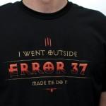 Camiseta Diablo III Error 37
