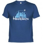 Camiseta Hogwarts estilo Disney