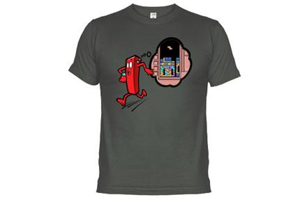 Camiseta ficha de Tetris