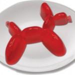 Molde con forma de perro de globo para gelatina