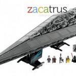 Nave Star Destroyer de Lego, 3000 piezas de diversión