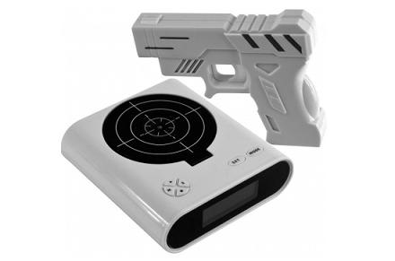 Despertador pistola Láser