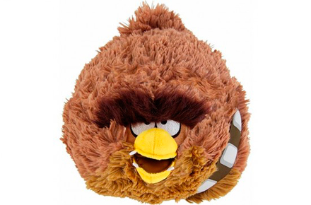 Peluche Chewacca Angry Birds