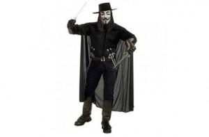 Disfraz V de Vendetta
