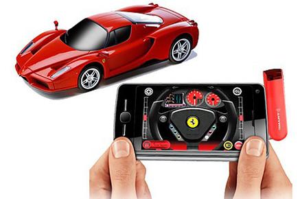 Ferrari Enzo teledirigido con tu iPhone