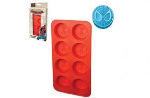 Molde para cubitos de hielo con la máscara de Spiderman