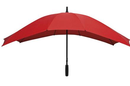 Paraguas rectangular para parejas
