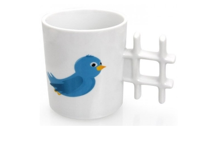 Taza Twitter Hashtag