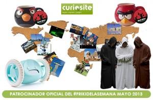 Nuevo sorteo de regalos frikis en nuestro #FrikiDeLaSemana de mayo con Curiosite