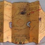 Mapa del tesoro de los Goonies