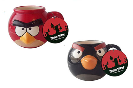 Tazas Angry Birds