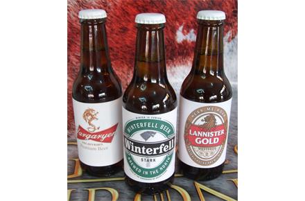 Pack de 3 cervezas de Juego de Tronos