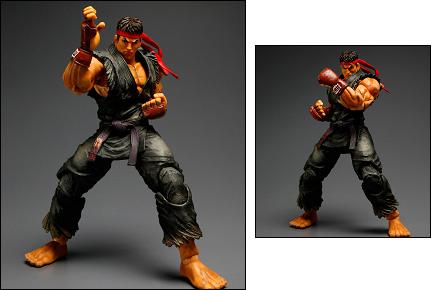 Figura de Evil Ryu, Street Fighter