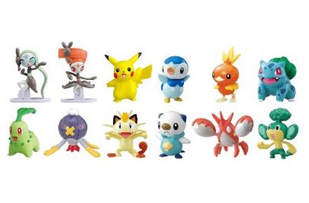 Pack de 12 muñecos de Pokemon