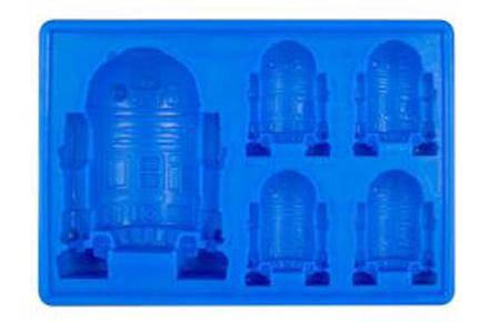 Molde para cubitos de hielo con forma R2-D2 de Star Wars