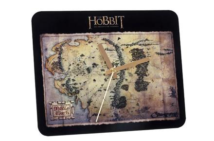 Reloj de pared del mapa del Hobbit