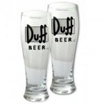 Set de 2 Vasos Gigantes de cerveza Duff