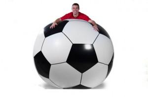 Pelota inflable gigante