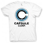 Camiseta Capsule Corporation de Dragon Ball