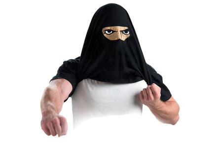 """Camiseta Ninja """"Ask me about my ninja disguise"""""""
