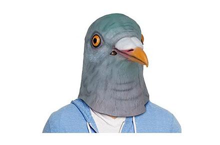 Máscara de paloma