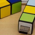 Pendrive USB cubo de Rubik