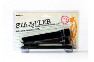"""Grapadora + sello """"STAMPLER"""""""