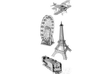 Kit de construcción 3D de monumentos metálicos
