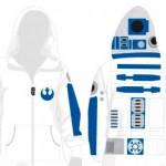 Mono con capucha de R2-D2 Star Wars