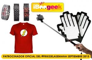 Vuelven los sorteos de regalos frikis en el #FrikiDeLaSemana de septiembre con iBoogeek