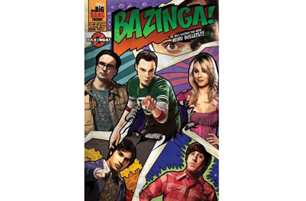 Póster The Big Bang Theory Bazinga!