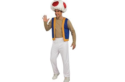 Disfraz de Toad, Super Mario