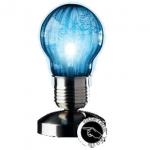 Lámpara táctil con forma de bombilla