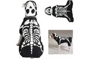 Disfraz para perro de esqueleto