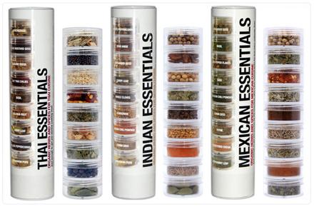 Mini kit orgánico de especias del mundo
