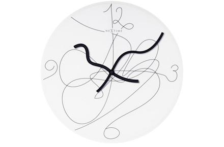 "Reloj de Pared ""Writing on the Wall"""
