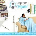 Más sorteos del #FrikiDeLaSemana con 4 regalos para noviembre de nuevo con UniversOriginal